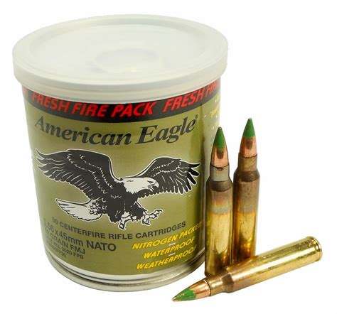 223 5 56x45 Ammo 62gr Xm855 American Eagle Fresh Fire .